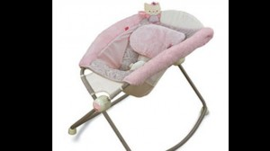 The My Little Sweetie model of the Fisher-Price Rock 'N Play Sleeper. (Fisher-Price photo / January 8, 2013)