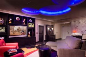 The Mickey Mouse Penthouse at the Disneyland Hotel