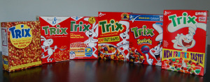60 years of trix cereal